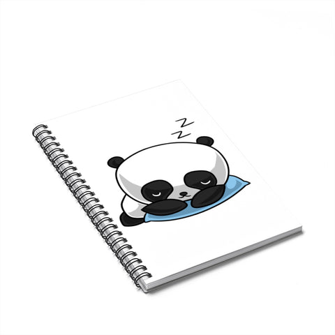 Notebook - Panda sleeping