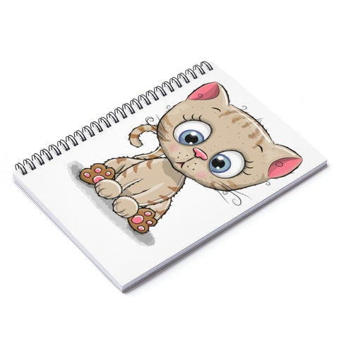 Spiral Notebook Cute Kitty - Ruled Line