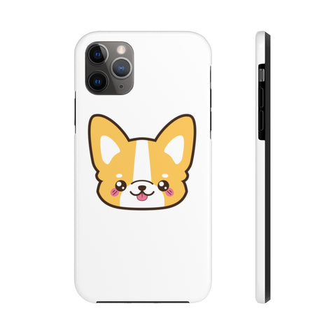 iPhone 11 pro max cases - Corgi Face | iPhone 11 cases mate tough
