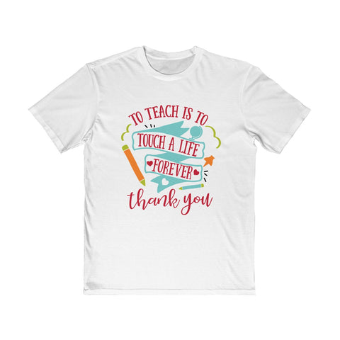 Teacher shirts - Touch a life | Teacher gifts | Custom gift for teacher