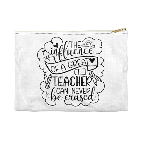 Teacher gifts - Pouch influence  | Teacher gifts personalized | Custom teacher gift