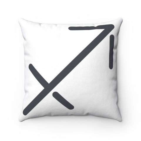 Sagittarius Spun Polyester Square Pillow | Horoscope Pillow
