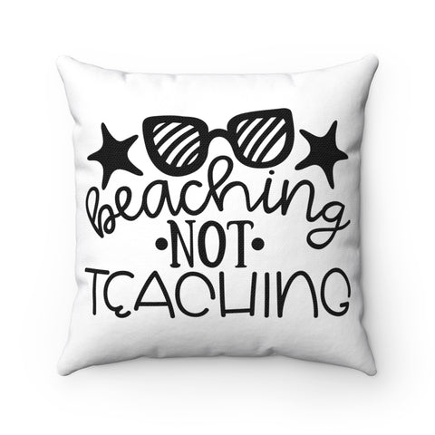 Home decor - Teacher beaching | Cushion Cover | Teacher gift | Teacher pillow