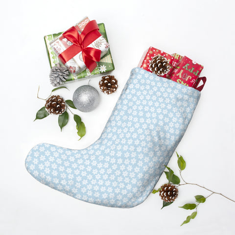 Christmas stockings - Snowflake stockings | Custom stockings | Christmas decor