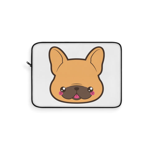 Laptop sleeve - Frenchie face | Personalized gift | Custom personalized