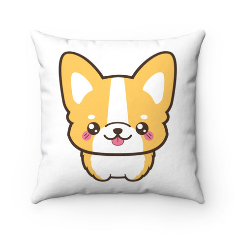 Home decor - Cute corgi standing front | Cushion Cover | Personalized gift