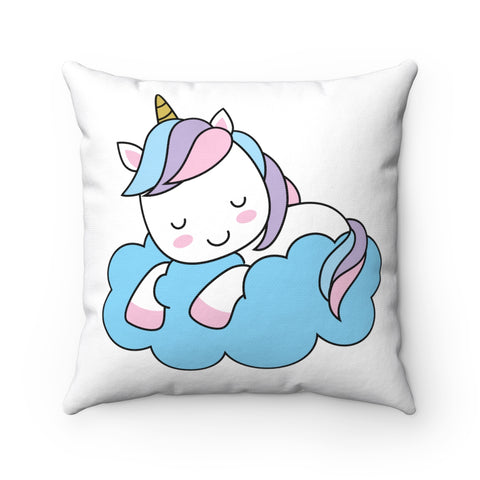 Home decor - Cute sleeping unicorn | Cushion Cover | Personalized gift