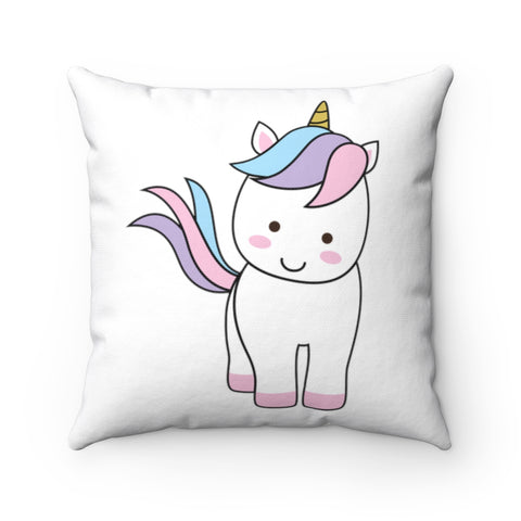 Cute throw pillows - Standing unicorn | Unicorn throw pillow