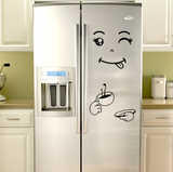 Refrigerator Stickers - Face stickers | Fridge vinyl | Fridge stickers