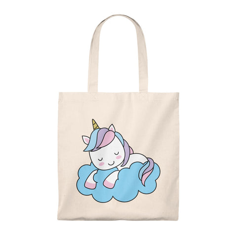 Tote Bag - Sleeping cloud Unicorn