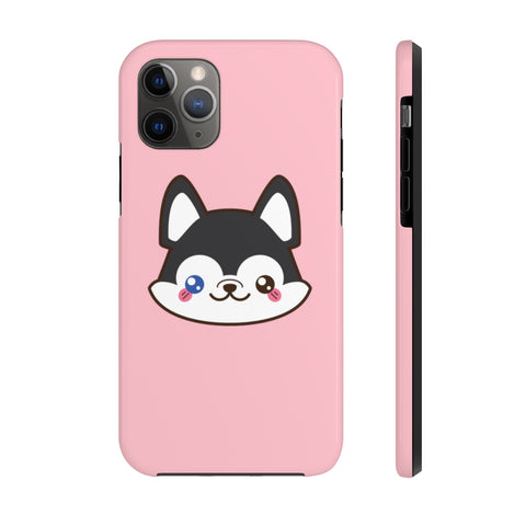 iPhone 11 pro cases - Pink color husky | iPhone 11 cases mate tough