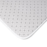 Christmas decorations - White dot green mat | Custom bath mat | Christmas gift