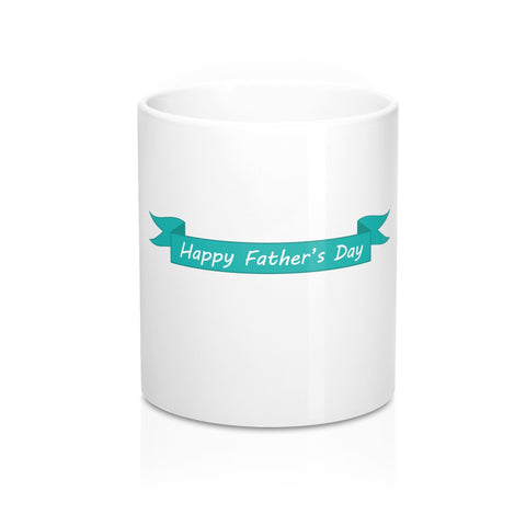 Fathers Day Gift - Personalized Coffee Mug with Happy Dad