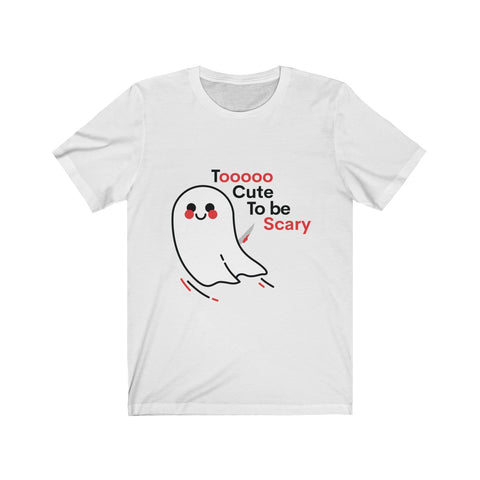 Halloween tee - Too cute to be scary | Halloween shirts | Unisex tee
