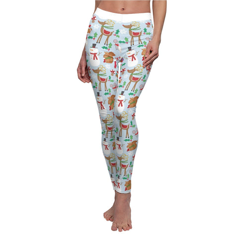 Leggings for women - Christmas snowman | Women leggings | Yoga pant