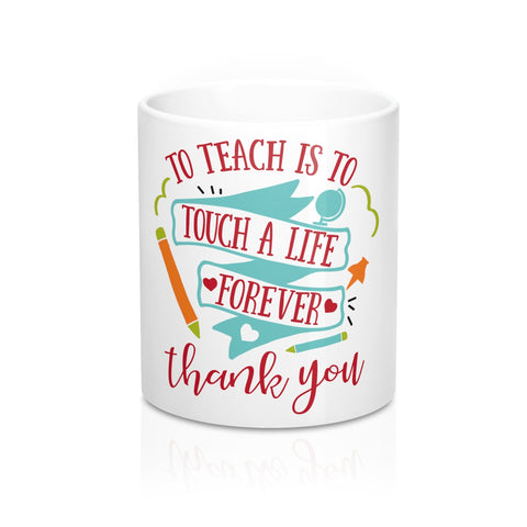 Teacher gifts - Touch a life | Teacher gifts personalized | Custom teacher gift