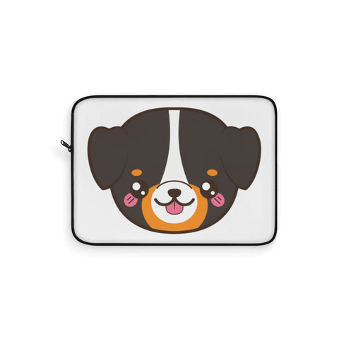 Laptop sleeve - Cute Bernese | Personalized gift | Custom personalized