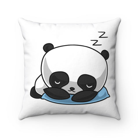 Panda Square Pillow Case