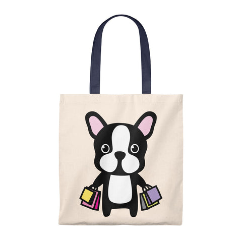 Tote Bag - Shopping Bulldog