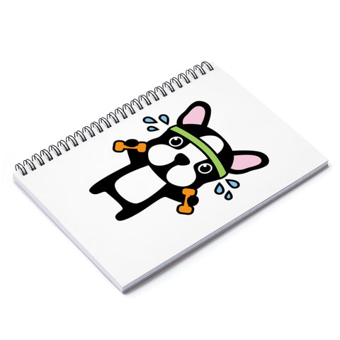 Spiral Notebook - Workout Bulldog
