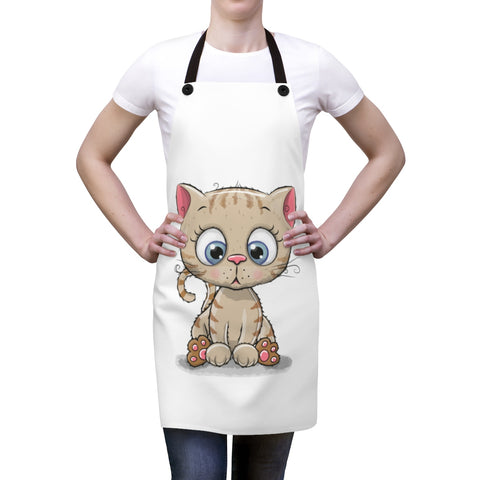 Aprons for women - Kitty Standing | Custom Apron