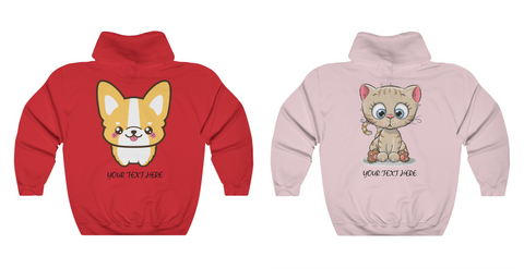 Sweater for couples -Corgi and kitty | Matching couple sweater