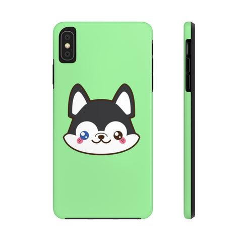 iPhone xs max cases - Green color husky | iPhone x cases mate tough