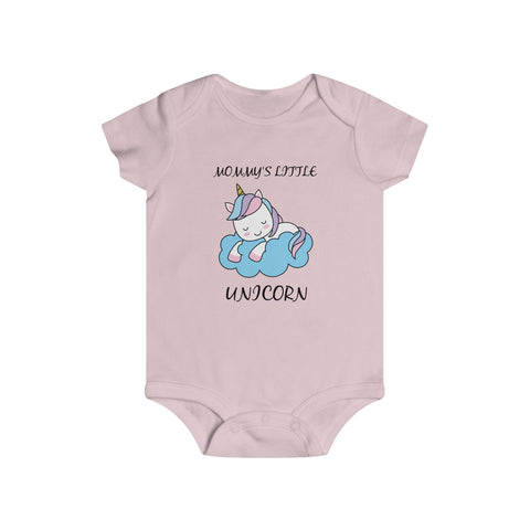 Baby girl clothes - Little Unicorn | Baby girl snap tee | Newborn girl clothes