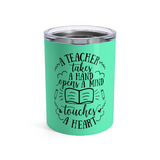 Teacher gifts - Tumbler touch a life  | Teacher gifts personalized | Custom teacher gift