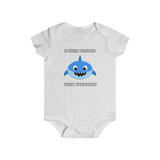 Baby boy gift - Swim faster baby shark | Baby boy clothes | Newborn baby gift | Baby shower gift