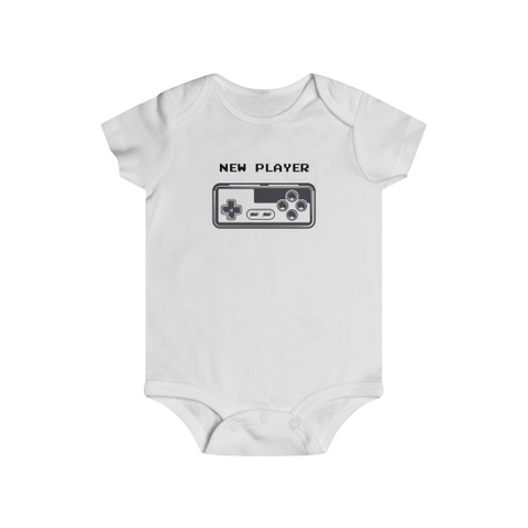 Baby boy gift - New player | Baby boy clothes | Newborn baby gift | Baby shower gift