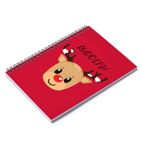 Notebook - Rudolph | Journal Notebook | Spiral Notebook