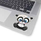 Laptop stickers - Sewing panda | Laptop decals | Laptop vinyls