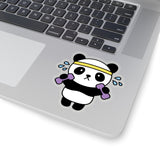Laptop Stickers - Workout Panda | Custom Stickers
