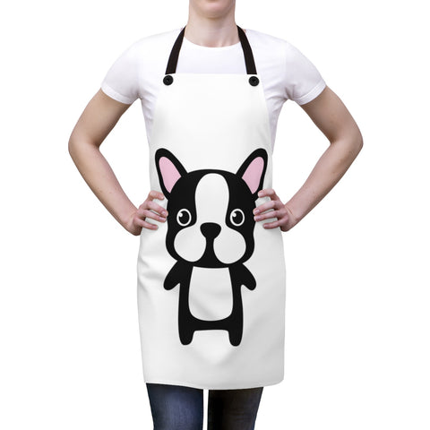 Aprons for women - Staring Bulldog | Custom Apron