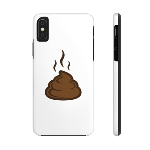 iPhone xs cases - White color poop | iPhone xs case mate tough