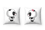 Matching couple gift - Panda pillow | Matching pillows | Couples gift
