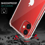 For iPhone 12 / 12 mini / 12 pro / 12 pro max case Hybrid Shockproof Thin Clear Case