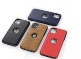 For Apple iPhone 12 12 pro 12 mini 12 pro max Leather Case Cover Slim