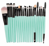 20PCS Makeup Brush Set Foundation Blush Powder Eyebrow Contour Brush
