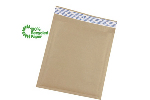 Recycled padded mailers Brown Bags Mailers Padded Envelopes Paper multiple size