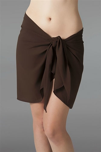 Georgette Brown Sarong