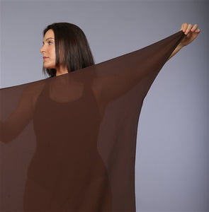 Plus Size Sarong Brown