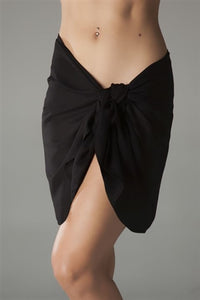 The Essential Sarong Black