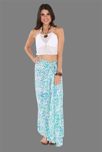 The Essential Sarong Long Water Print
