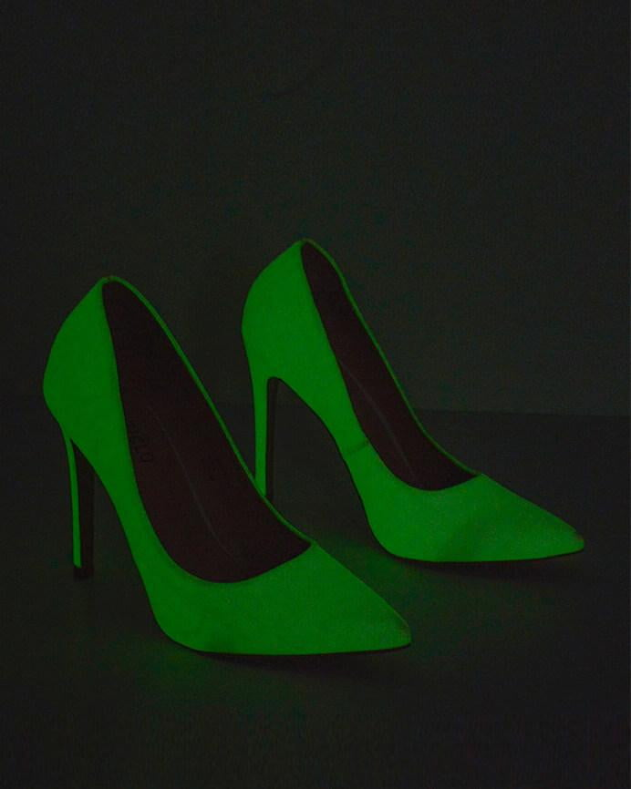 MATY - glow in the dark court heel