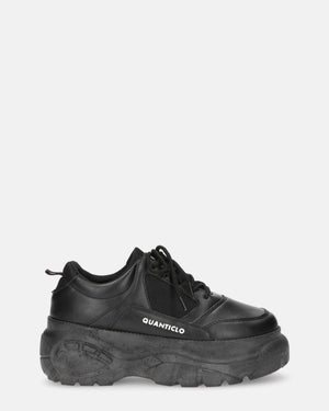 SHARI - chunky sneakers in black - QUANTICLO