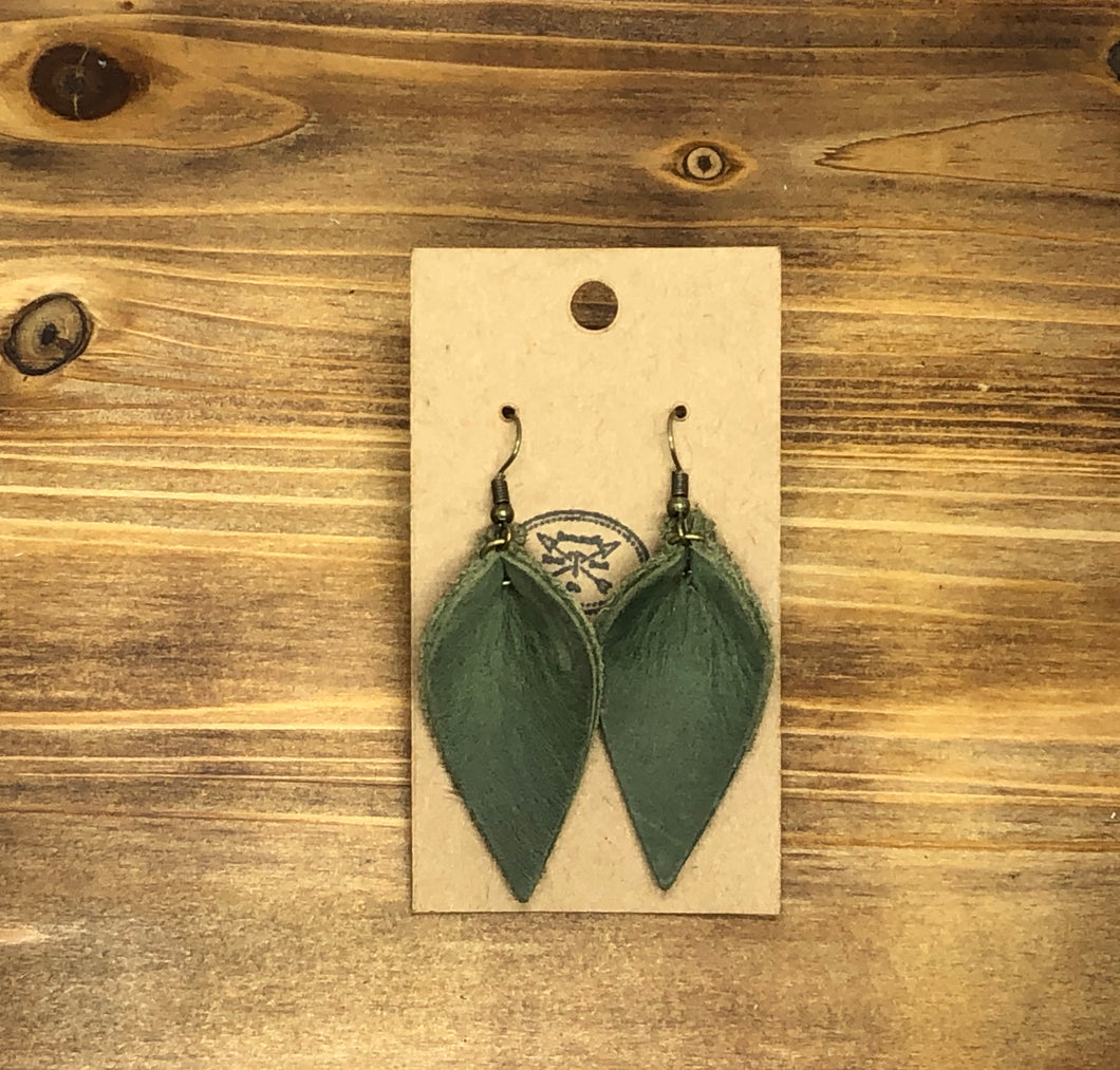 Pinched Folded Earrings