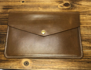 Broughton St. Horween Leather Clutch
