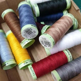 ** GUTERMANN TOP STITCH - 100% POLYESTER - 30M REEL - ASSORTED COLOURS